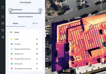 Thermography to identify hotspots without manual inspection for a distributed solar project | Covid impact