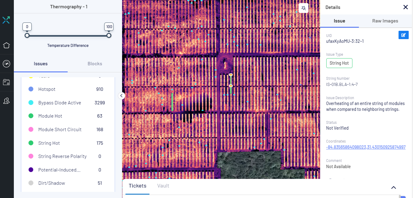 Learnings from Thermography of over 12 GWs of Solar PV Plants